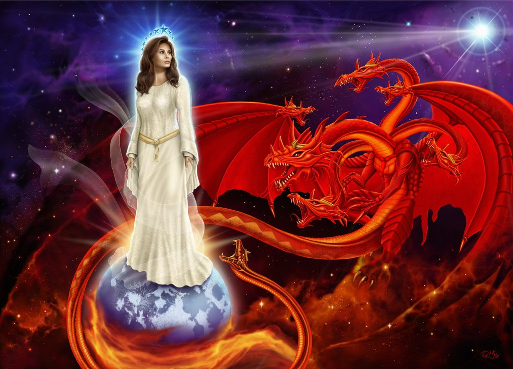 Woman,Pregnant,12 Stars,Clothed Sun,Moon,Birth,Male Child,Child, Rule Nations,Rod of Iron,New Jerusalem,Revelation 12,Agony,Pain, Dragon,devour child,serpent,third stars