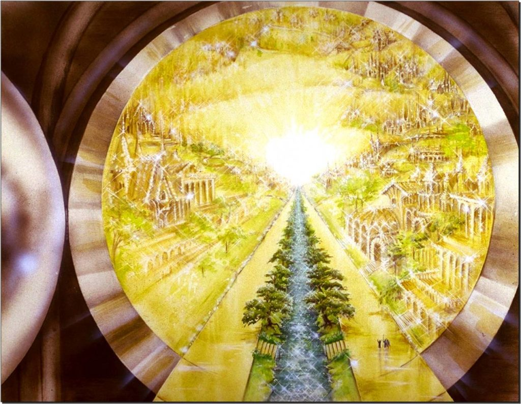 River of Water of Life,Flowing from the Throne,Flowing,Lamb,12 crops,leaves,healing of the Nations,Revelation 22