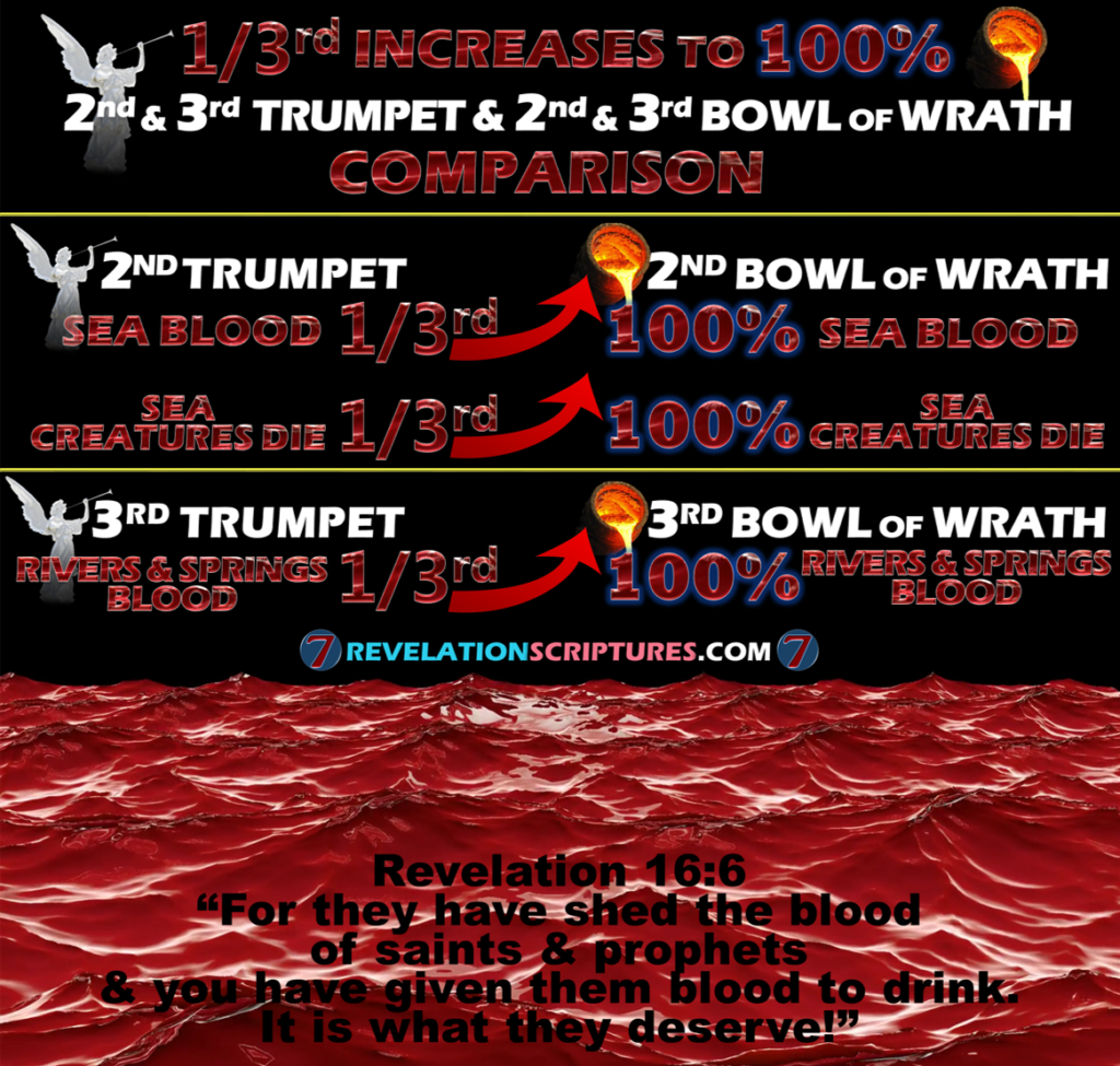 2nd Bowl of Wrath,2nd Vile of Wrath,2nd Bowl,2nd Vile,second bowl,second vile,sea,blood,every creature died,everything died,ocean dead,dead ocean,fish kill,toxic water,toxic ocean,poison water,poison ocean,dying ocean,dead ocean,1st Plague in Egypt,water blood,Nile river,blood,10 plagues of Egypt,7 Angles,7 last Plagues,7 Final Plagues,Curses,3rd Bowl of Wrath,3rd Vial of Wrath,3rd Bowl,3rd Vial,third Bowl,third vile,springs,rivers,rivers and springs,water,fresh water,blood,blood to drink,judgement,altar,judgments,shed blood,killed,saints,prophets,holy ones,elect,deserve,1st Plague in Egypt,water blood,Nile river,blood,10 plagues of Egypt,7 Angles,7 last Plagues,7 Final Plagues,Curses,7 Golden Bowls,Day of Wrath,Day of Vengeance,Anger,7 Vials of Wrath,7 Bowls of Wrath,Book of Revelation,Revelation 15,Revelation 16,Revelation Chapter 15,Revelation Chapter 16,Seven Vials of Wrath,7 Vials,7 Bowls,Seven Bowls,wrath,Picture Gallery,pictures,Second Trumpet,2nd Trumpet,Mega Tsunami, tsunami,Something Like,great Mountain,Burning,Ablaze,thrown into the sea,hurled into the sea,Fire,Third Sea Blood,third,sea blood,Third Sea Creatures Died,Third Boats Wrecked,third boats destroyed,destroyed,Revelation Chapter 8,Chapter 8,7 Trumpets,Book of Revelation,Apocalypse,Third Trumpet,trumpet 3,3rd Trumpet,3rd Trumpet revelation,Star fell,star fall,star,Wormwood,bitter,poison water,toxic water,water wars,water more expensive than goaldThird Rivers,third Springs,Bitter,Poison Water