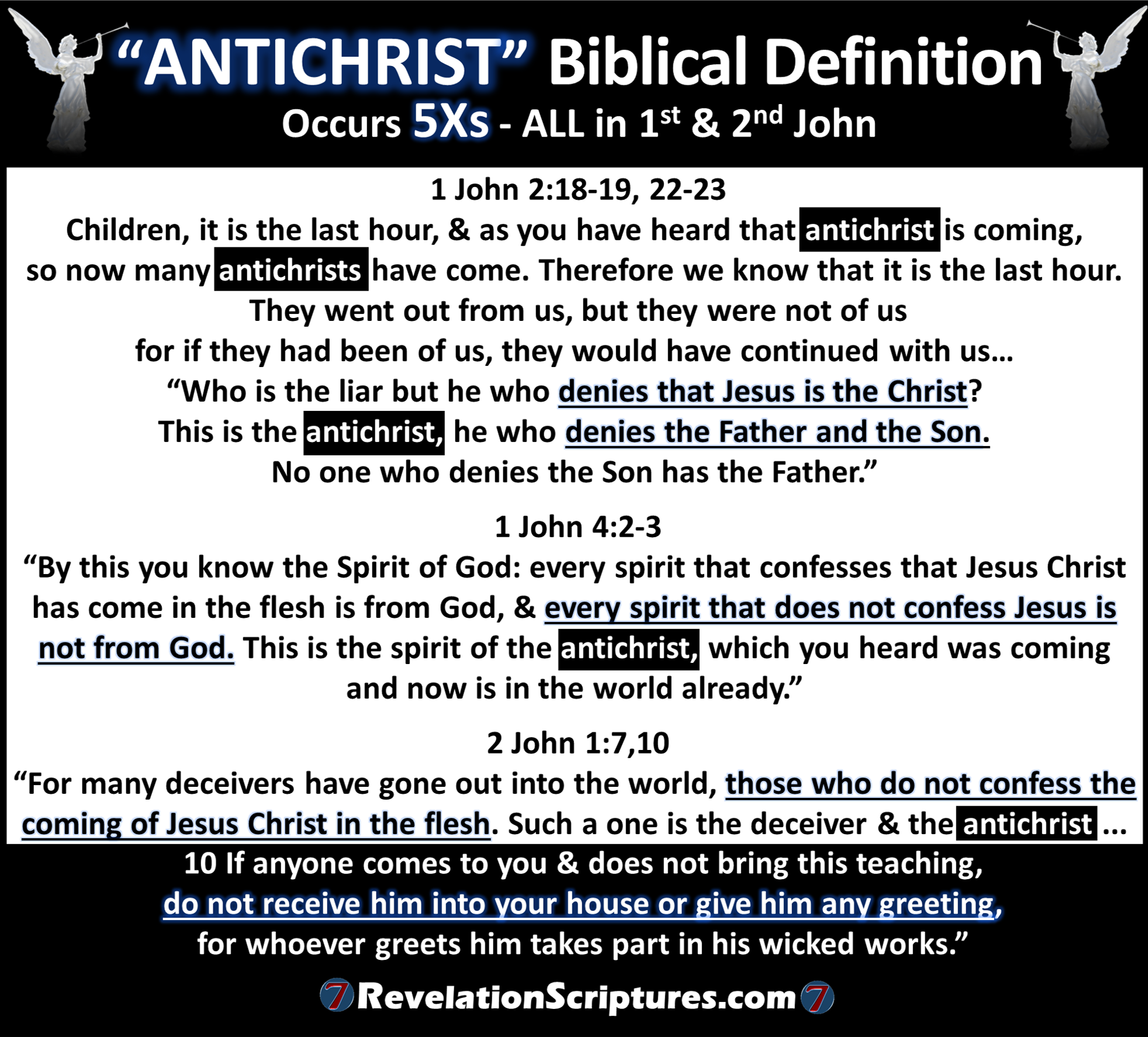 biblical definition of antichrist - what the bible says! - the book
