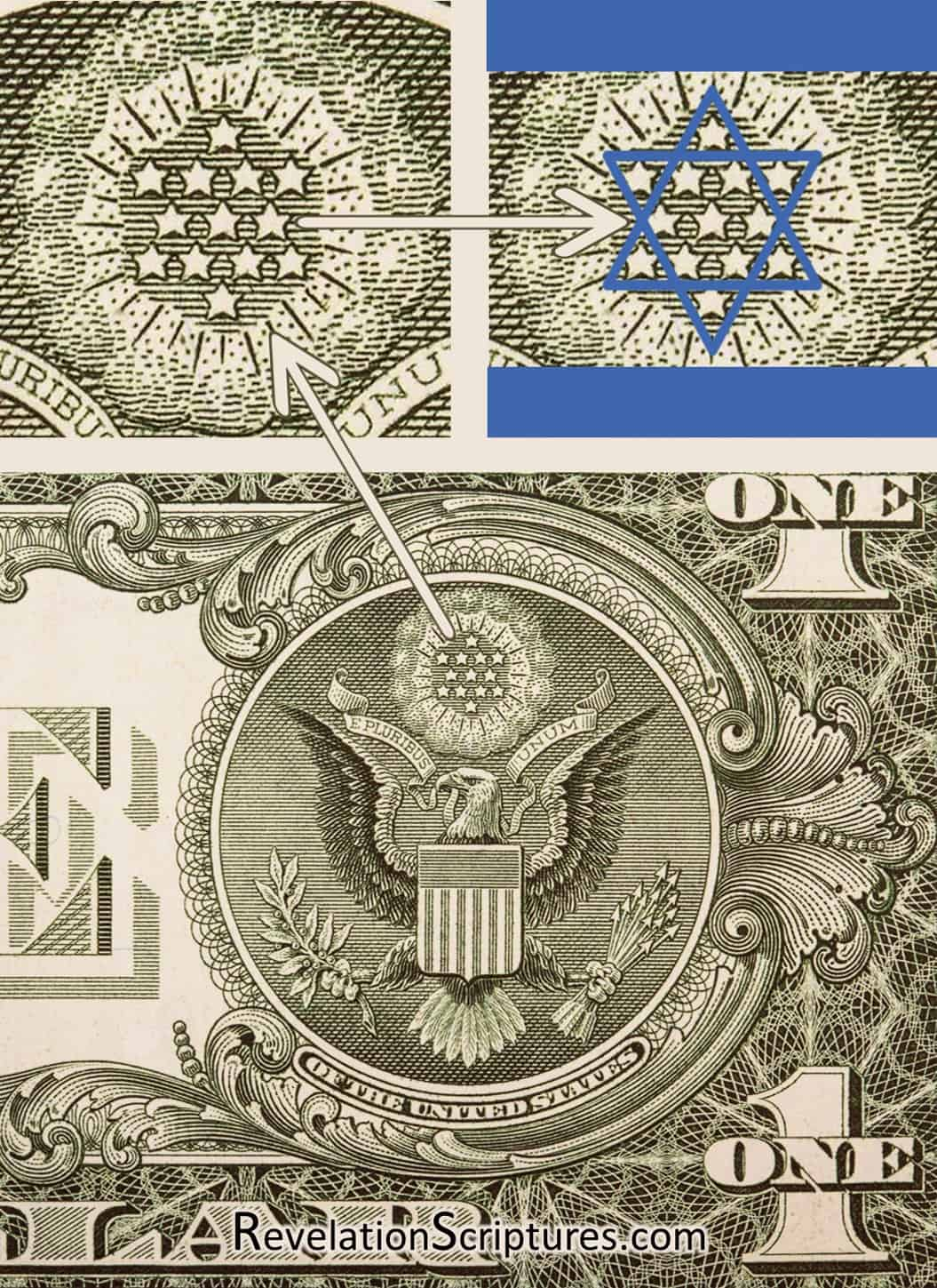 Image result for star of david in the us seal