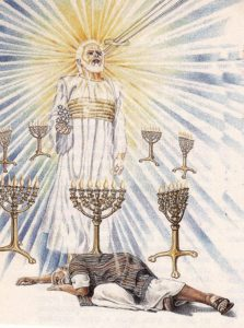 Jesus in Midst of Seven Lampstands 7 Candlesticks Revelation Chapter 1 Introduction Seven Lampstands Seven Churches 7 Stars Book of Revelation