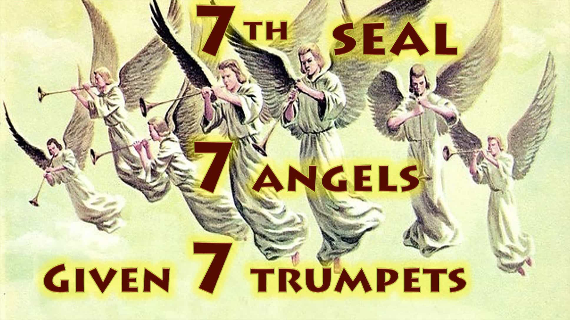 Seventh Seal,Seven Angels,Seven Trumpets,Seventh Seal,7th Seal,Book of Revelation,Revelation Chapter 8,Apocalypse