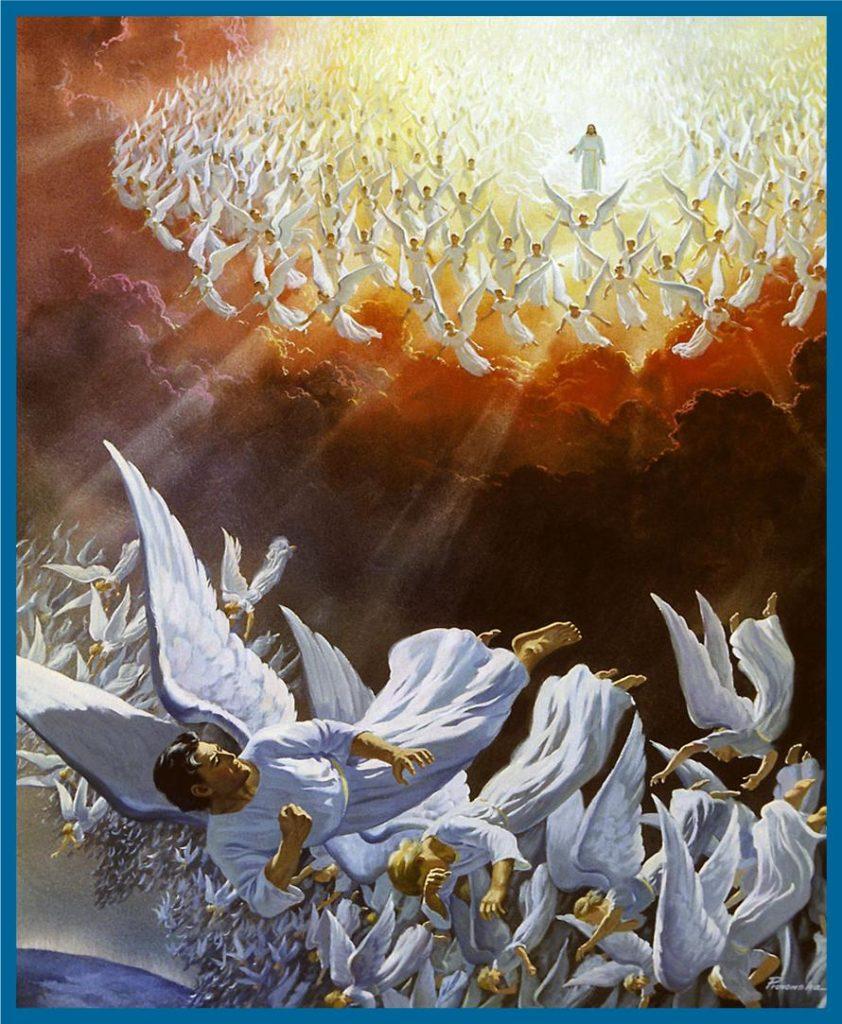 War,Heaven,Michael,Devil,Dragon,Angels,Battle,Revelation 12