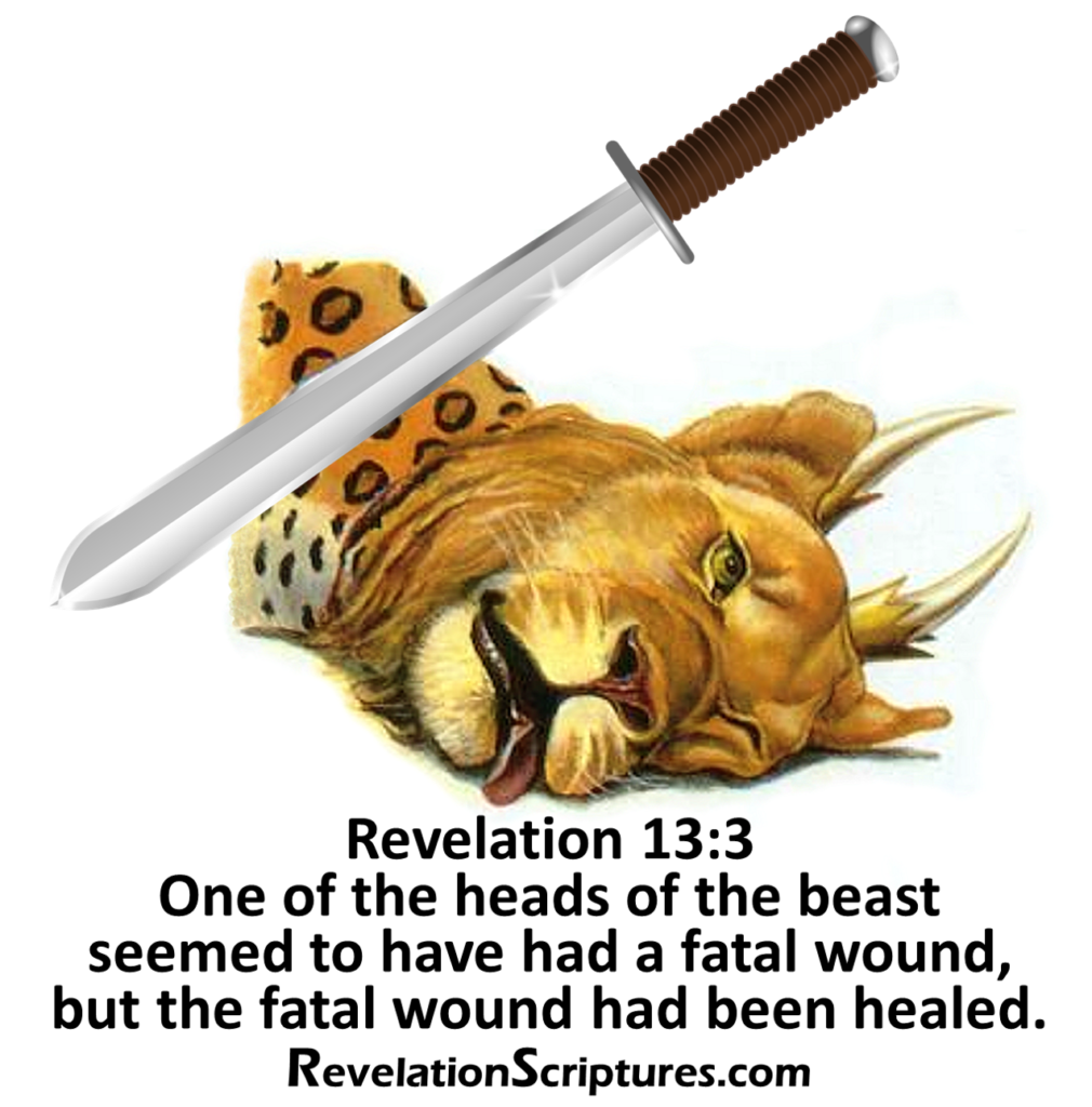 Beast,Sea,coming out of the sea,10 horns,7 heads,10 Crowns,10 diadems,blasphemous names,leopard,feet like a bear,bear feet,mouth like a lion,power,thrown,authority,dragon,head,fatal wound,mortal wound,healed,42 months,conquer saints,wage war against saints,saints,every tribe,people,language,nation,new world order,wounded by sword,lived,revived,phoenix,phoenix rising,phoenix rising from the ashes,false flag,United States,USA,Revelation 13,Revelation Chapter 13,The Beast,Book of Revelation,Apocalypse