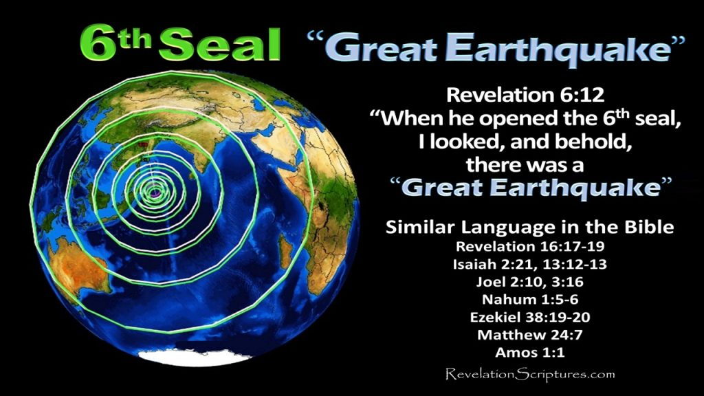 What does the bible say,biblical interpretation,scriptural interpretation,6th Seal Biblical Interpretation,Wrath,Salvation,Great Earthquake,Sun, Moon & Stars,Sky Receded as Scroll,Island & Mountain Removed,Hid in Caves,Day of Wrath,Test your Knowledge of the 6th Seal, Sixth Seal,6th Seal,Book of Revelation,Apocalypse,Earthquake,Great Earthquake,sun black,stars fell,moon blood red,sky scroll,sun,moon,stars,sky receded,island,mountains,removed, islands and mountains removed,hid in caves,hide us,wrath of God,wrath of the Lamb,144000,sealed,4 angels,4 winds,destruction,Great multitude,Great Crowd,Great Tribulation,salvation,Revelation 6,Revelation Chapter 6,Revelation 7,Revelation Chapter 7
