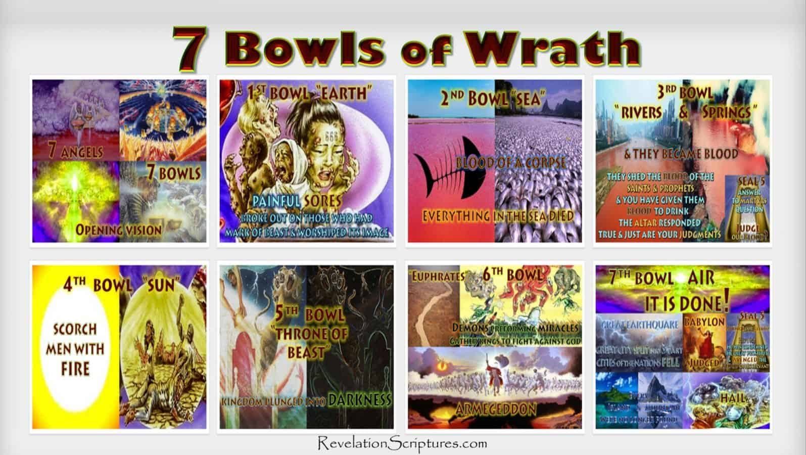 7 Angles,7 last Plagues,7 Final Plagues,Curses,7 Golden Bowls,Day of Wrath,Day of Vengeance,Anger,7 Vials of Wrath,7 Bowls of Wrath,Book of Revelation,Revelation 15,Revelation 16,Revelation Chapter 15,Revelation Chapter 16,Seven Vials of Wrath,7 Vials,7 Bowls,Seven Bowls,wrath,Picture Gallery,Book of Revelation,First Vial,Second Vial,Third Vial,Fourth Vial,Fifth Vial,Sixth Vial,Seventh Vial,Chapter 15,Chapter 16,Chapter 19,Armageddon,7 Bowls of Wrath,First Bowl,Earth,Land,Second Bowl,Sea,Third Bowl,Rivers,Springs,Water,Blood,Fourth Bowl,Sun,Scorch,Fire,Fifth Bowl,Throne of Beast,Darkness,Sixth Bowl,Euphrates,Armageddon,Seventh Bowl,Air,it is done,it is finished