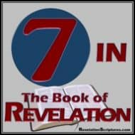 7 –  in the Book of Revelation!