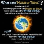 The Hour of Trial & Testing