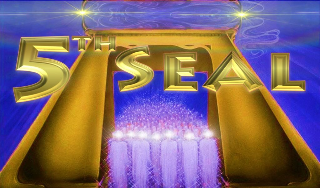 fifth Seal,5th Seal,Seal 5,Book of Revelation,Seven Seals,7 Seal,Seven Seals of the Book of Revelation,Apocalypse,Seven Trumpets,Seven Vials of Wrath,Seven Bowls of Wrath,Souls,Altar,Word of God,Testimony,Judge Avenge,Blood,White Robe,Brothers Killed,144000,Israel,New Jerusalem,Bride of Christ,1000 year reign,Millennium,Overcome,conquer,Martyrs,Priest,king,judges,Matthew 24
